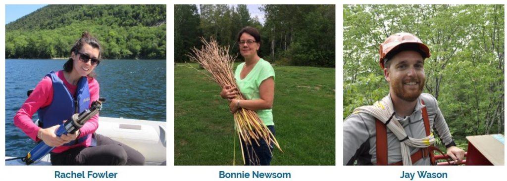 images of Rachel Fowler, Bonnie Newsom, and Jay Wason